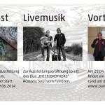 Ausstellung und Musik