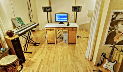 Multimedia Tour im Tonstudio